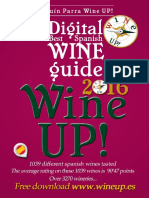WINE UP WINE GUIDE 2016 – BEST SPANISH WINES & DISTILLED -Annual Edition-