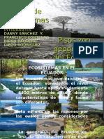 Ecosistemas y Pisos Zoogeográficos Del Ecuador