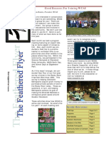 WCAS Feathered Flyer Newsletter Aug - Oct 2009