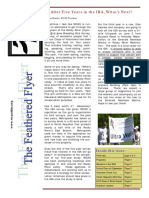 WCAS Feathered Flyer Newsletter May - July 2010