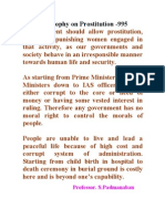 Allow Prostitution or Lead a good society-995