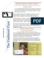 WCAS Feathered Flyer Newsletter Nov 2012 - Jan 2013