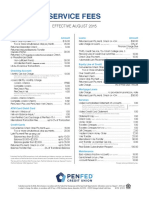 PenFed Service Fees