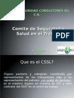 Presentacion de CSSL ERSEC 09-2015