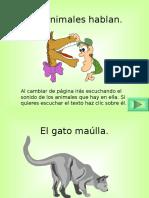 Los Animales   Hablan .pps