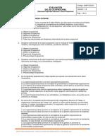 1. Evaluación Salud Ocupacional