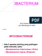 KULIAH MYCOBACTERIUM
