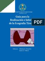Guia Para La Realización e Informe de La Ecografia Tirodea