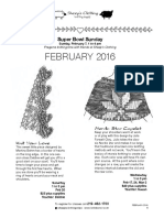 2016 February Classes