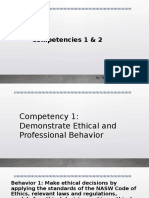 competency 1   2