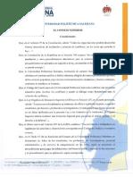 Reglamento de Procesos Disciplinarios y de Aplicación Del Art. 207 LOES