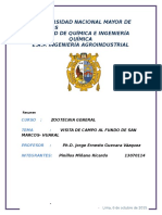 Reporte de Salida de Campo Zootecnia