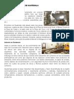 Actividad Económica de Guatemala