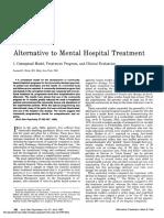 PactAlternative to Mental Hospital Treatment