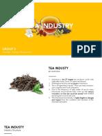 TEA INDUSTRY 5 PORTER