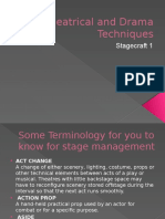 Lecture 3 - Stagecraft