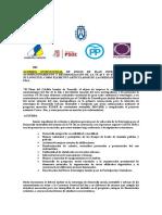 Acondicionamiento Carretera Sur, Acuerdo Institucional Cabildo Tenerife Pleno 27.11.15