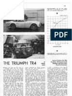 AUTOSPORT 1962 -Triumph TR4 Performance Report
