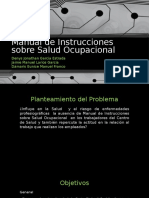 Manual de Instrucciones Sobre Salud Ocupacional
