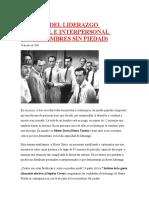 7 Claves Del Liderazgo Personal e Interpersonal