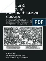 Tribe and Polity in Late Prehistoric Europe- Demography, Production, And Exchange in the Evolution of Complex Social Systems-[D._blair_Gibson,_Michael_N._geselowitz_(Auth.),_D. Blair Gibson, Michael N. Geselowits (Eds)