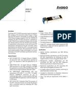AFCT 701SDZ 10Gb Ethernet 1310 Nm 10GBASE LR SFP Transceiver for SMF 10km Links (1)
