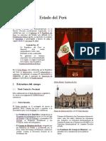 Estado Del Perú