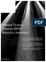 PR COM 109 I327 Manual Técnico Tubería HDPE Minería e Industria.v1
