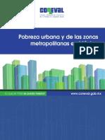 Pobreza Urbana y de Las Zonas Metropolitanas en Mexico