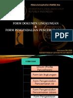 1. Form Dokumen Lingkungan Dan PPA