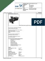 Raw Water Pump P 2301AB