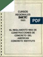 Ejemplos Del Reglamento ACI- 318-83