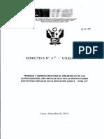 Directiva N°65 - Ugel03 Agi