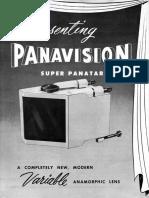 Panavision Super Panatar Brochure