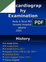 Echocardiography Examination