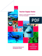 5. Tourism Supply Chains