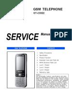 Samsung Gt-c3322 Service Manual