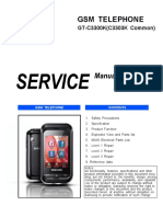 Samsung Gt-c3300k Service Manual