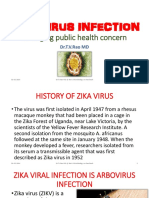 ZIKA VIRUS INFECTIONemerging public health concern