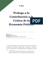 Crítica de La Economía Política1