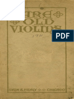 1911 Rare Old Violins