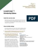 Python Exercises