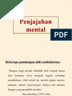 Penjajahan Mental