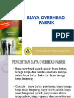3-Akuntansi Biaya Overhead