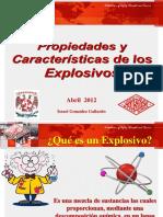 1. Propiedades y Características de Los Explosivos