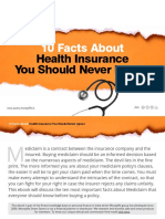 10 Facts About Health Insurance You Should Never Ignore