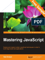 Mastering JavaScript - Sample Chapter