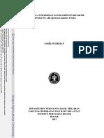 Aktivitas Antioksidan Dan Komponen Bioaktif Kangkung Air (Ipomoea Aquatica Forsk.)