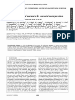 Strain-softening of concrete in uniaxial compression, RILEM TC 148-SSC