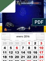 Calendario Zaragoza PN 2016